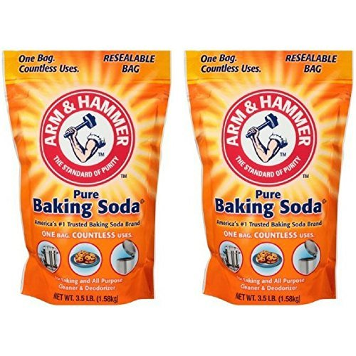 Arm & Hammer, Pure Baking Soda 3.5 lb. Stand-Up Bag
