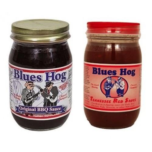 Blues Hog Original BBQ Sauce 16 oz & Tennessee Red Sauce, 16 oz ...