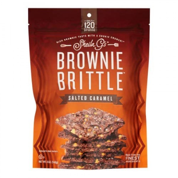 Brownie Brittle salted caramel Pack of 6