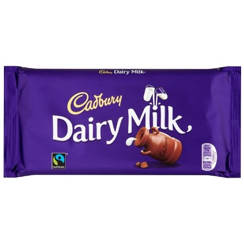Cadbury Dairy Milk Chocolate Bar 200 g Pack of 7