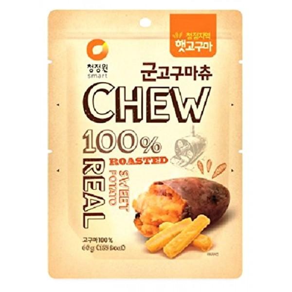 CJW Korean 100% Real Roasted Sweet Potato Snack 2.11 Oz - Chews ...