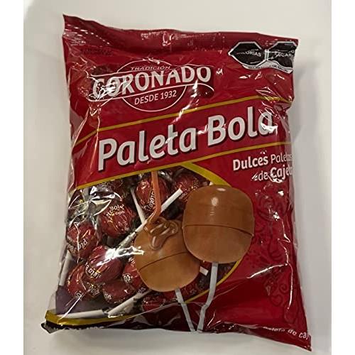 Coronado Cajeta Candy. Mexican Goat Milk Caramel Lollipops. Bag ...