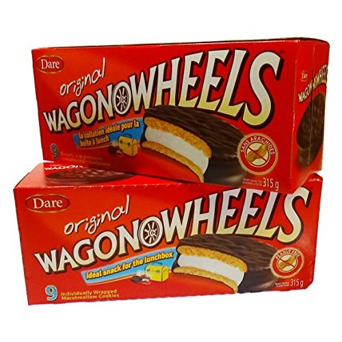 The Original Wagon Wheels - Chocolate Covered Marshmallow cookie...