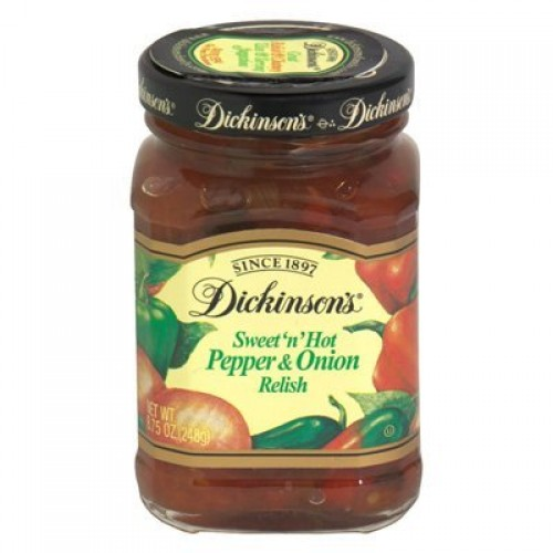 Dickinsons Relish, Pepper Onion, 8.75-Ounce Pack of 6 by Dick...
