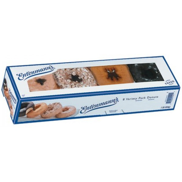 Entenmanns Donuts - Variety Pack, 12 oz