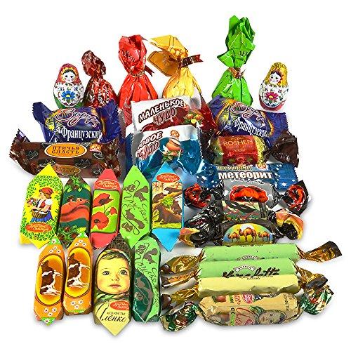 Gourmet Russian and Ukrainian Chocolate Candy Assortment, 1 lb/ ...