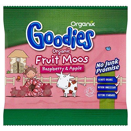 Organix Goodies Organic Fruit Moos - Raspberry & Apple 12g