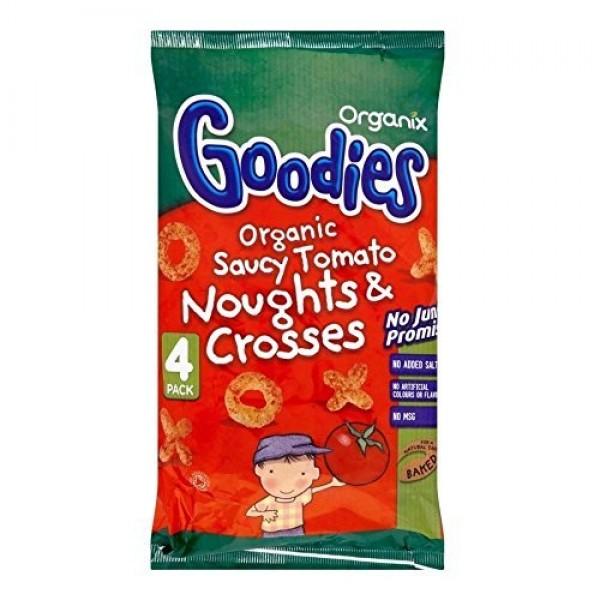 Organix Goodies Organic Saucy Tomato Noughts & Crosses 12mth+ 4...