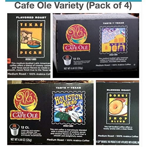 H.E.B Cafe Ole Variety Single Serve Coffee Cups San Antonio; Hou...