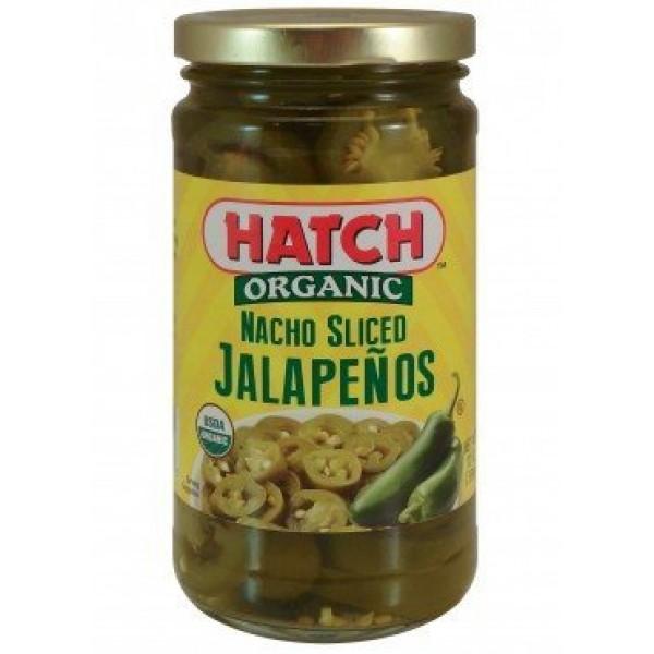 Hatch Organic Nacho Sliced Jalapenos 12 Oz Pack of 2 by Hatch