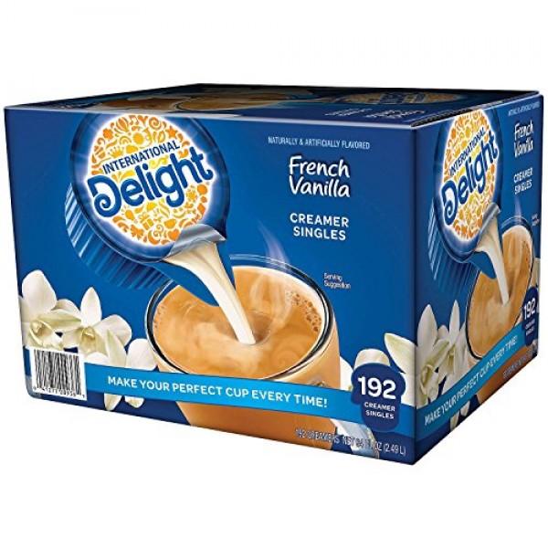 International Delight French Vanilla, 192 Count Single-Serve Cof...