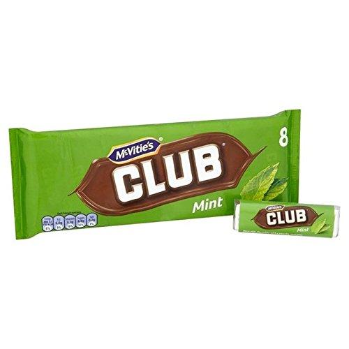McVities Club Mint 8 x 22.5g - Pack of 2