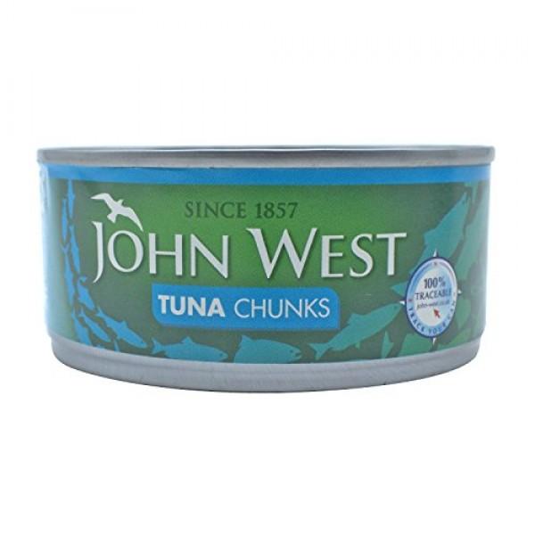 John West Tuna Chunks In Brine 4 X 160G
