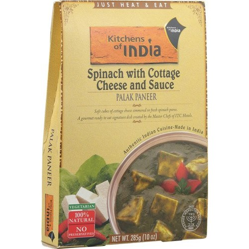 Kitchens Of India Palak Paneer - Spinach With Cottage Cheese and...