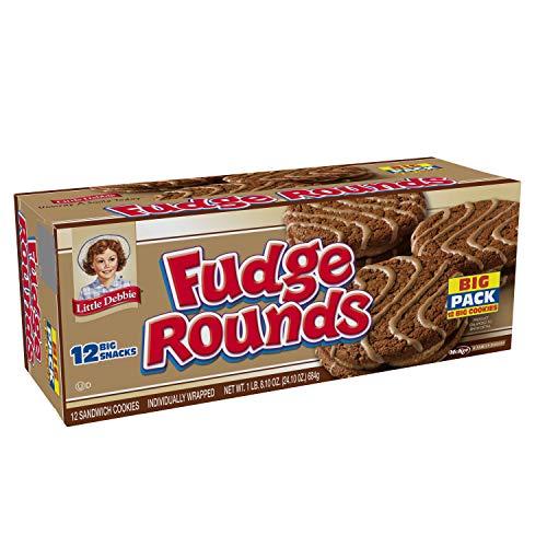 Little Debbie Fudge Rounds 24.1 Oz 3 Boxes