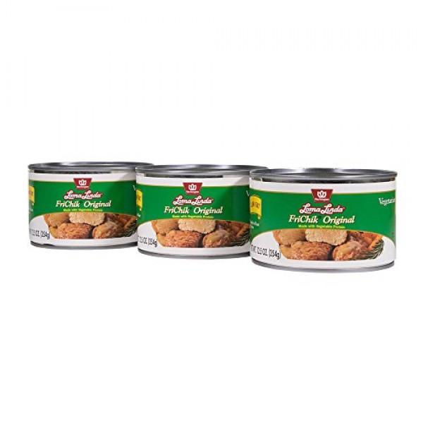 Loma Linda - Vegetarian - Low Fat FriChik 12.5 oz. Pack of 3...