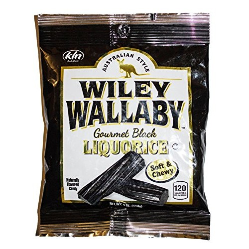 Lucky Country Aussie Style Soft Licorice Candy, Traditional Blac...