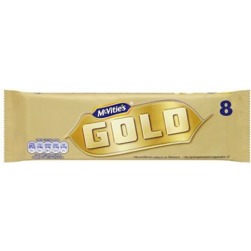 McVities Gold Bars 8 Pack