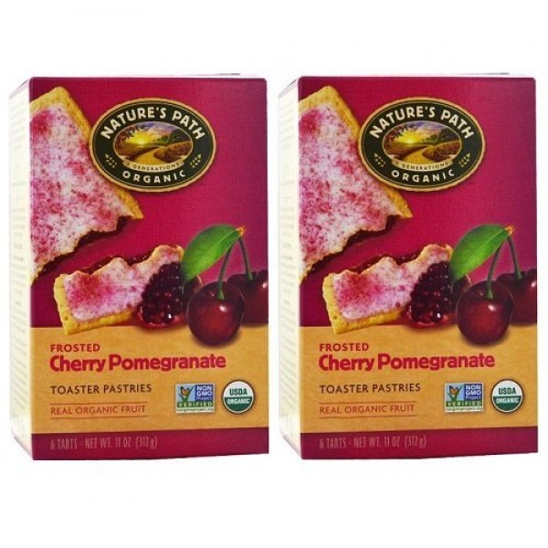 Natures Path Frosted Toaster Pastry - Cherry Pomegranate - 11 o...