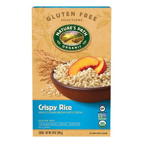 Natures Path Organic Cereal Whole Grain Crispy Rice -- 10 oz - ...