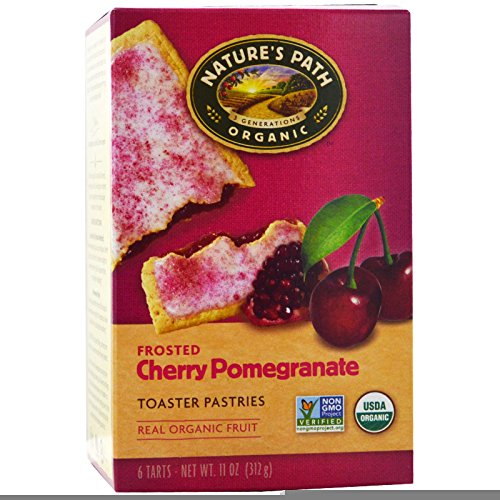Natures Path, Organic, Frosted Toaster Pastries, Cherry Pomegra...
