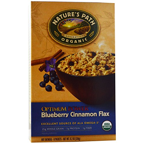 Natures Path, Organic, Optimum Power, Hot Oatmeal, Blueberry Ci...