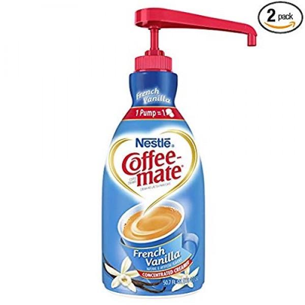 NESTLE COFFEE-MATE Coffee Creamer, French Vanilla, 1.5L liquid p...