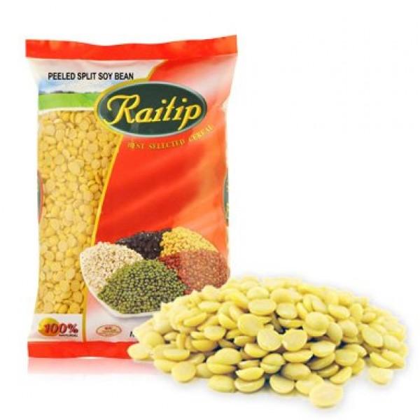 Raitip Dried Peeled Split Soy Bean 500gx 1pack Thai