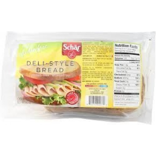 Schar Deli-Style Bread Gluten Free -- 8.5 oz Each / Pack of 2