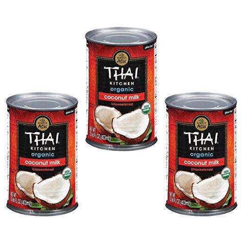 Thai Kitchen Organic Gluten Free Unsweetened Coconut Milk, 13.66...
