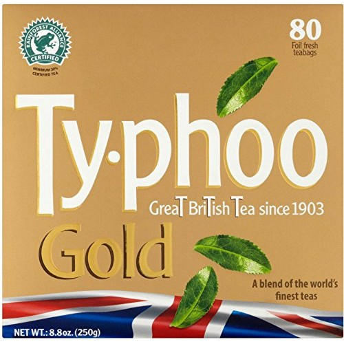 Typhoo Gold Premium Tea Bags 80ct