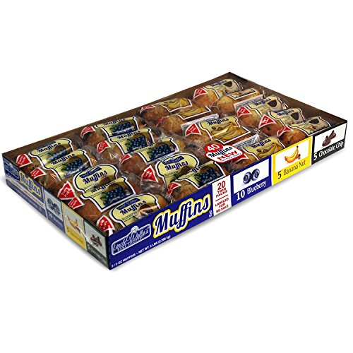 Uncle Wallys Muffins Variety Pack 20 twin pks.