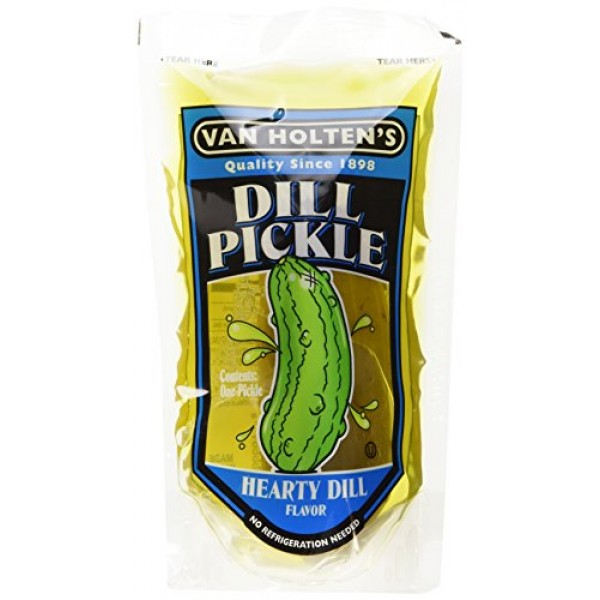 Van Holtens - Pickle-In-A-Pouch Large Dill Pickles - 12 Pack