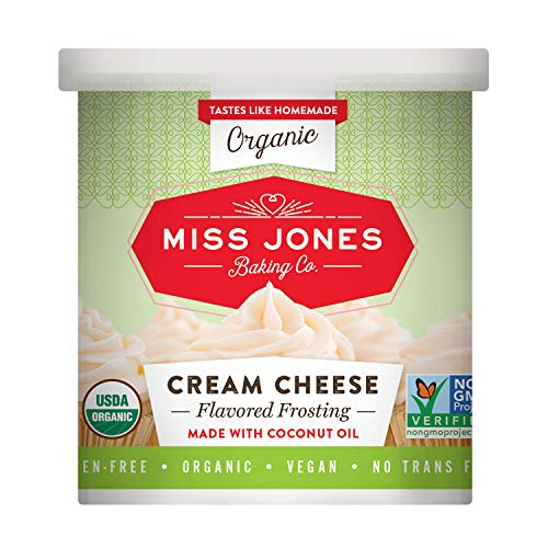Miss Jones Baking Organic Frosting, Cream Cheese Pack of 1