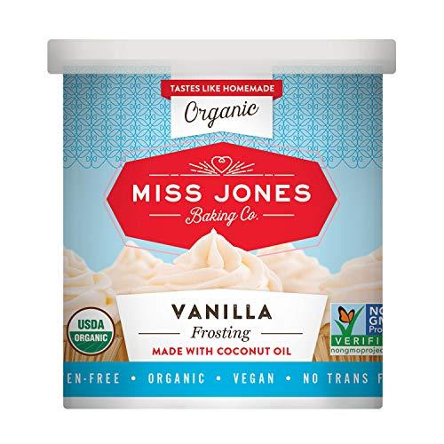 Miss Jones Baking Organic Frosting, Vanilla Pack of 1