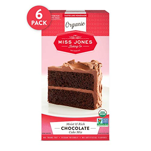 Miss Jones Baking Organic Cake and Cupcake Mix, Non-GMO, Vegan-F...
