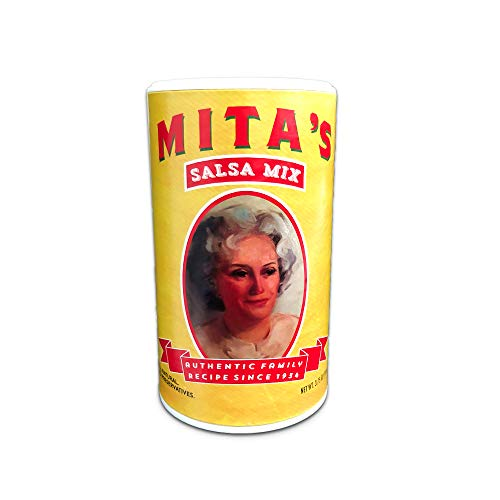 Mitas Salsa Mix ,Makes 16 bowls of fresh salsa, ready in seconds!
