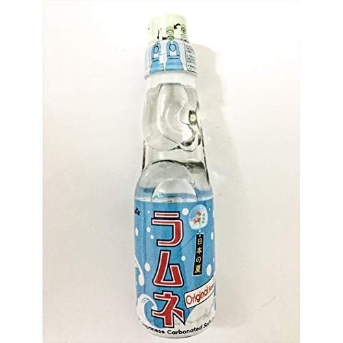 Miyako Ramune Japanese Carbonated Soft Drink original flavor 6 P...