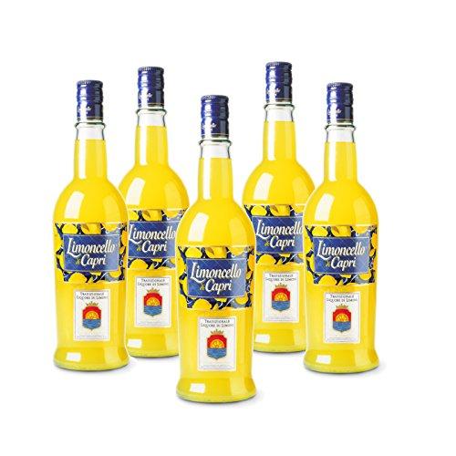 Limoncello of Capri Pack 5 Bottles