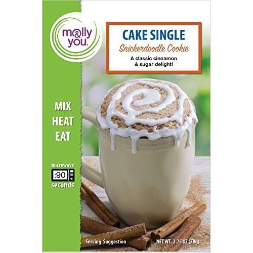 Mug Cake: Snickerdoodle Cookie Cake Mix