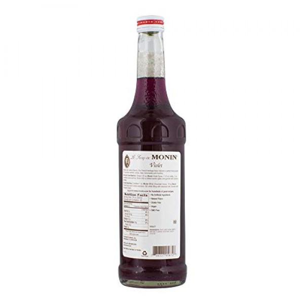 Monin Flavored Syrup, White Chocolate, 33.8-Ounce Plastic Bottle...