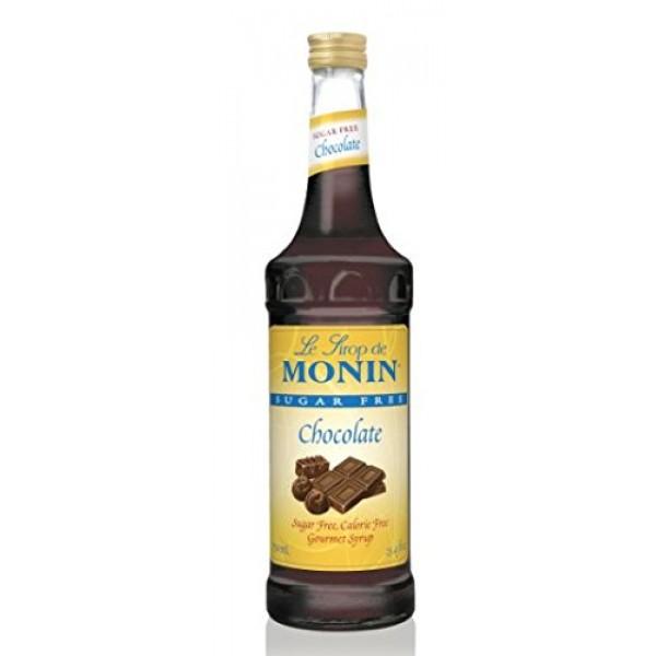 Monin Sugar Free Chocolate Syrup, 750ml 25.4oz