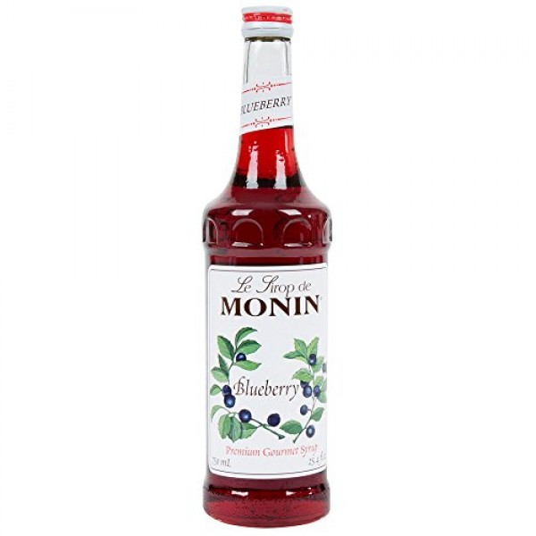 Monin Blueberry Syrup 750ml 25.4oz