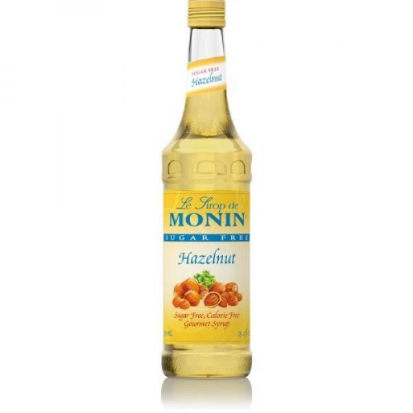 Monin Sugar Free Hazelnut Syrup, 750ml 25.4oz