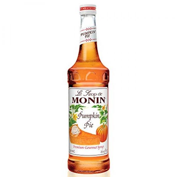 Monin - Pumpkin Pie Syrup, Pumpkin & Baked Pie Crust Flavor, Nat...