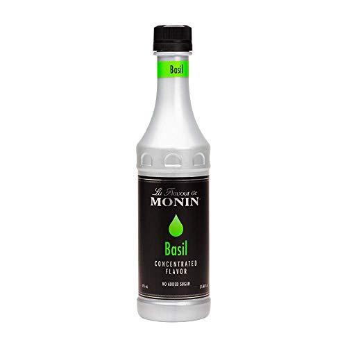 Monin Basil Flavor Concentrate 375ml Bottle