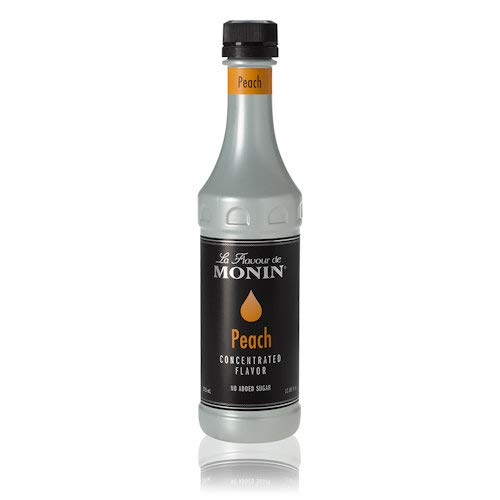 Monin Peach Flavor Concentrate 375ml Bottle