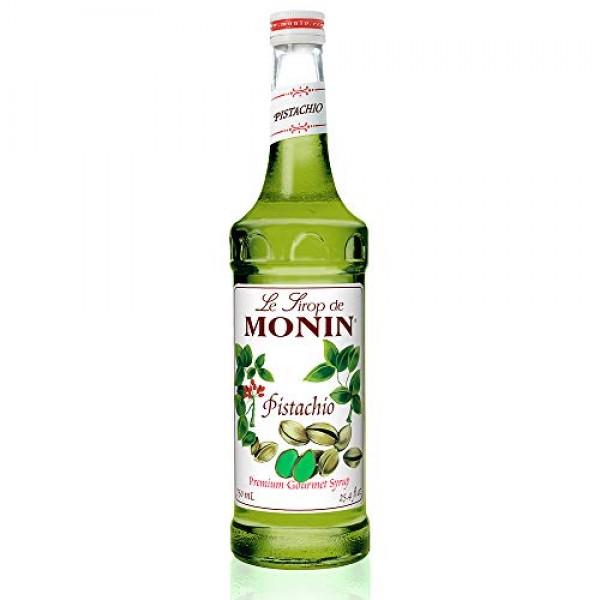 Monin - Pistachio Syrup, Rich and Roasted Pistachio Flavor, Grea...