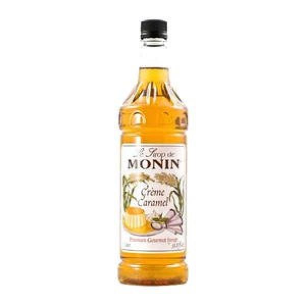 Monin Flavored Syrup, Crème Caramel, 33.8-Ounce Plastic Bottle ...
