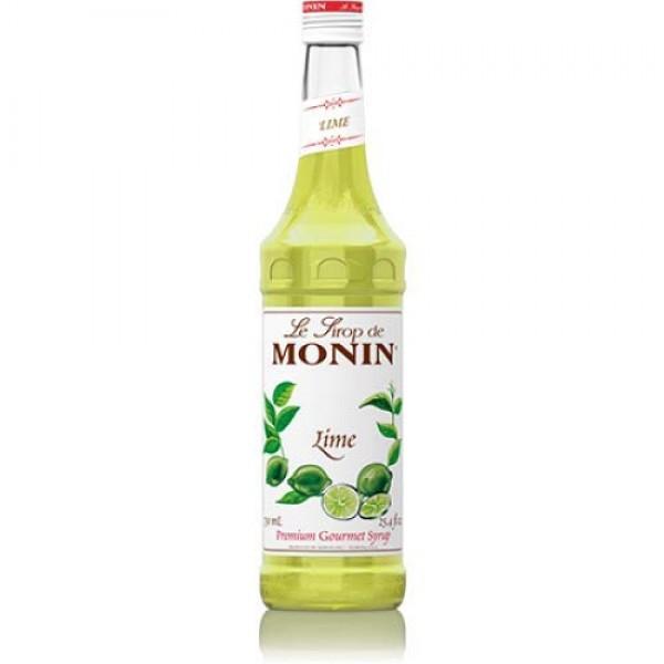 Monin Lime syrup 750ml 25.4oz